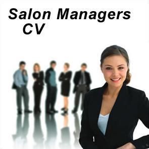 Salon Manager CV