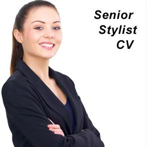 Senior Stylist CV and Covering Letter