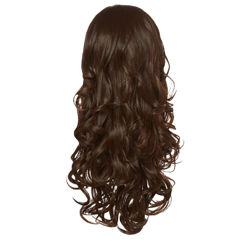 Hairaisers Live it Loud Curly Colour 4/6 Hair Piece