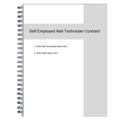 Nail Technician Table Rental Agreement