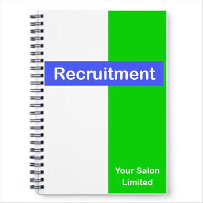 Salon Recruitment Procedures Pack