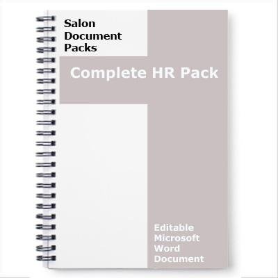 Salon Human Resources Pack