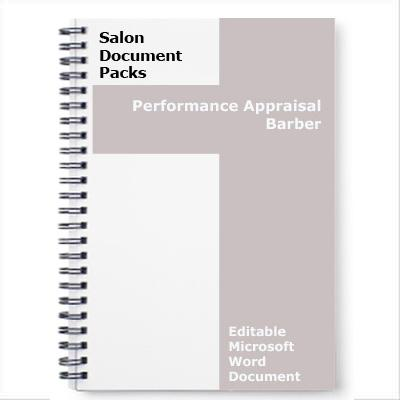 Performance Appraisal Barber