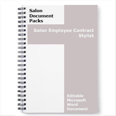Hairstylist Employment Contract