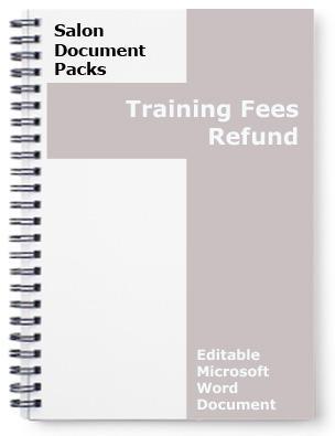 Salon Training Fees Refund