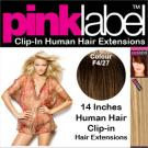 Pink Label Clip in Hair Extensions Colour F4_27