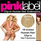 Clip in Human Hair Extensions Colour 24