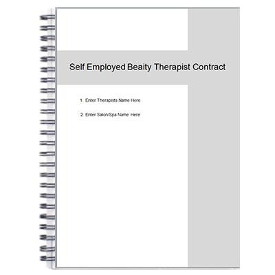 Beauty Therapist's Room Rental Agreement