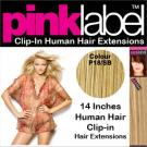 Pink Label Clip in Hair Extensions Colour P18_SB